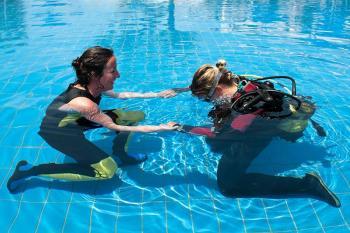 half open water diving courses