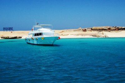 Paradise island , Red sea cruise Hurghada , paradise island